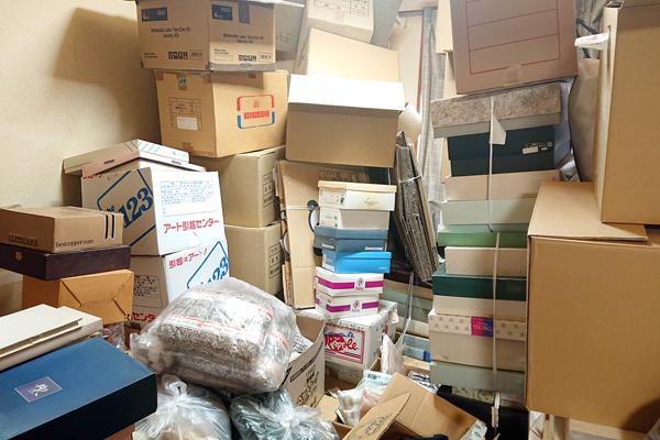 物置にしまっていた不用品の回収と買取
