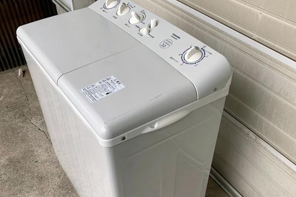 二層式洗濯機と掃除機をお引き取り
