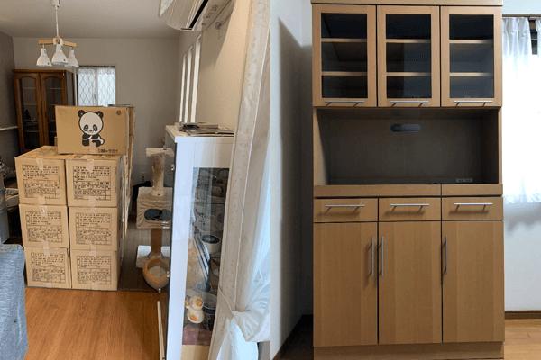 引越し前の家財道具をまるごと回収処分