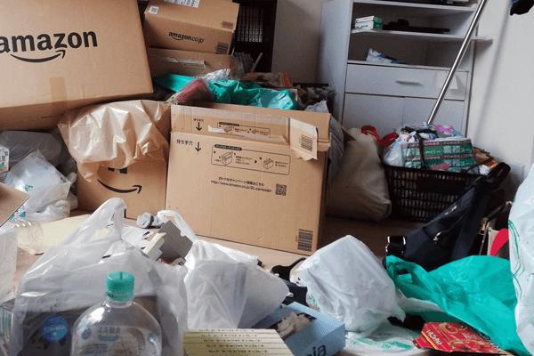 マンションの汚部屋の片付けゴミ処分