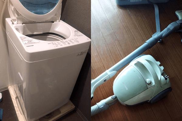 不要になった冷蔵庫・掃除機など生活家電を回収