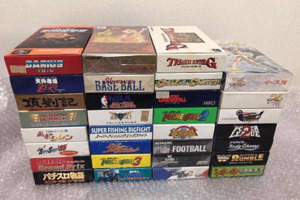 旧店舗のお片付け・ゲーム機器やゲームソフトをお買取