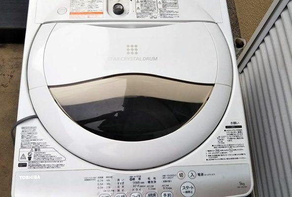大阪市生野区で引越しによる洗濯機を回収引き取り